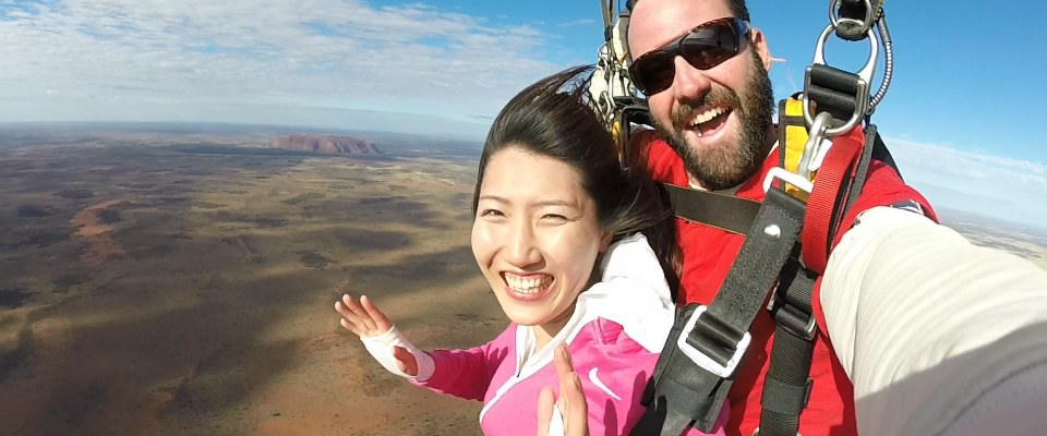 Skydive Uluru Packages